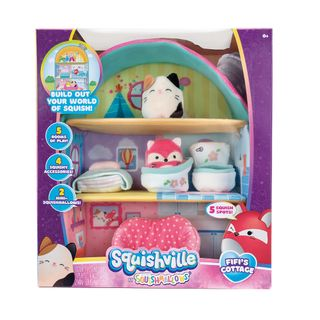 Peluches-Squishmallows-Squishville-Mini-Playset-House