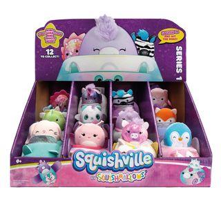 Peluches-Squishmallows-Squishville-Mini-in-Vehicle